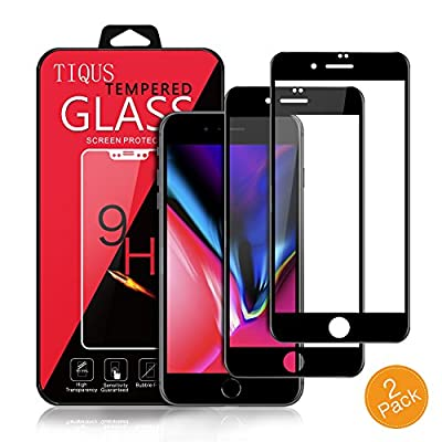 TIQUS 2Pack Screen Protector for iPhone 8/ iPhone 7