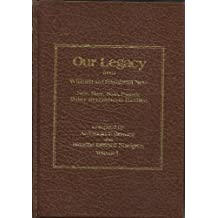 Amazon archibald f bennett books our legacy from william and elizabeth new volume 1 new neat nate passey oakey and ellsworth families fandeluxe Choice Image