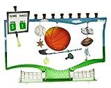 Sports Style Hanukkah Menorah For Kids / Family Gift