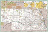 36x53 Nebraska State Official Executive Laminated Wall Map