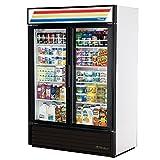 True Mfg GDM-49, 2 Door, Glass Swing Door Refrigerator