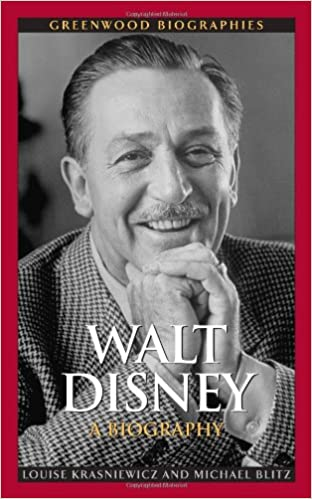 amazon com walt disney a biography greenwood biographies
