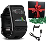 Garmin GPS vivoactive HR Smart Watch, Black, Regular Gift Pack