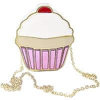 Cute Women's Bag Ice-Cream Cake Small Shoulder Bag PU Crossbody Shoulder Bag