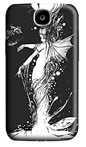 Samsung S4 Case Mermaid Angel Thing 3D Custom Samsung S4 Case Cover