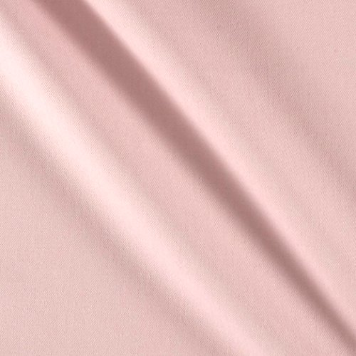 Cloud 9 Organic Tinted Denim Heather Pink Fabric By The Yard (Stretch Pink Denim)