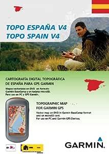 Garmin TOPO Spain v4, DVD/microSD/SD - Software de navegación (DVD/microSD/SD, ES, 1024 x 768, 1024 MB, Pentium): Amazon.es: Software