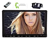 Eincar double 2din Car Stereo with 7 inch Capacitive Touch Screen Android 6.0 Marshmallow Autoradio Bluetooth Reverse Camera Car DVD Player in Dash FM AM RDS Radio Wifi OBD2 Quad-Core CPU Headunit