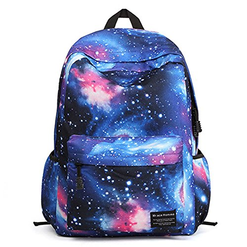 Joyousac School Backpack Students Bookbag Multifunctional Daypack (galaxy - Virtually Try Sunglasses