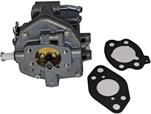 846109 Carburetor with Gaskets for Briggs & Stratton 350447 356447 16HP 17HP 18HP Vanguard 843324 Nikki Carb