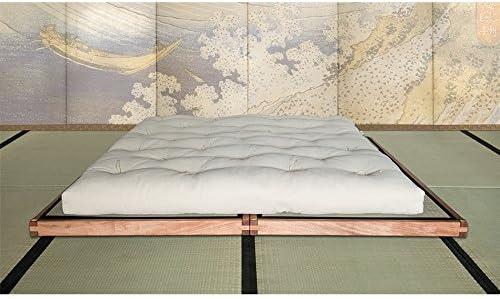 Bio Wood VivereZen-Cama con plataforma Tatami medida este ...