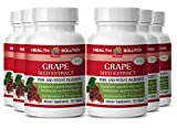 Grape seed complex - GRAPE SEED EXTRACT- boost immunity (6 bottles)