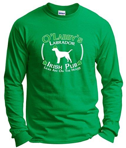 Patricks Labrador Irish Sleeve T Shirt