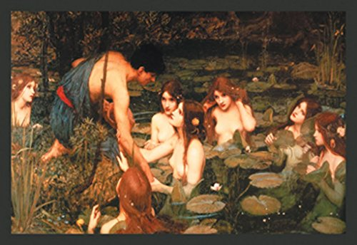 ArtParisienne Hylas and The Nymphs John William Waterhouse 12x18 Poster Semi-Gloss Heavy Stock Paper Print (John William Waterhouse Hylas And The Nymphs)