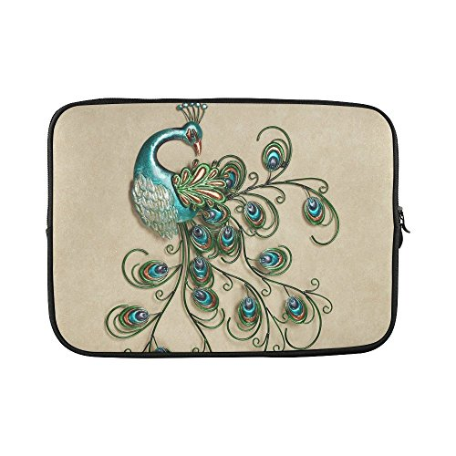 SLsenD-Custom-Beautiful-Peacock-Feather-Water-Resistant-Computer-Bag-Laptop-Sleeve-Notebook-Case-Cover-14-141-inch
