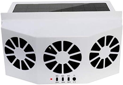 Techwills - Ventilador de Salida de Aire para Coche, refrigeración ...