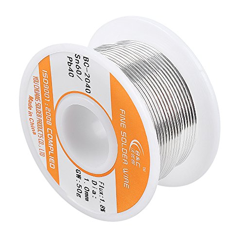 50g 0.6mm Tin Lead Rosin Core Solder Soldering Wire - 4