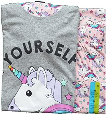 Primark - Pijama - para mujer multicolor multicolor L: Amazon ...