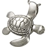 Memorial Gallery 3208s Sea Turtle Sterling Silver Cremation Pet Jewelry