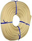 Commonwealth Basket Flat Oval Reed 1/4-Inch 1-Pound Coil, Approximately 275-Feet