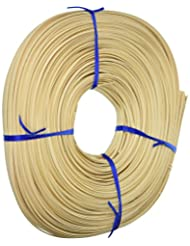 Commonwealth Basket Flat Oval Reed 1/4-Inch 1-Pound Coil, App...