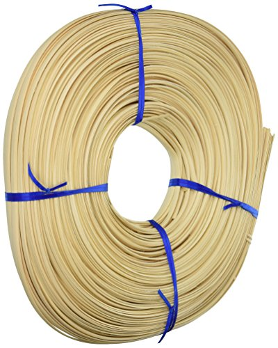 Commonwealth Basket 14FOC Flat Oval Reed 1/4-Inch 1-Pound Coil, Approximately 275-Feet (Basket Reed)