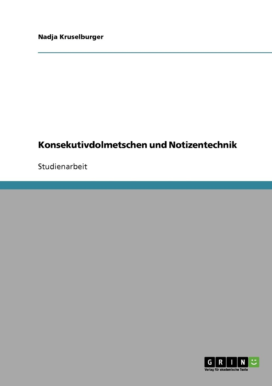 Konsekutivdolmetschen und Notizentechnik