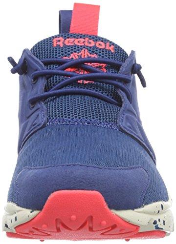 Reebok  Furylite, Sneakers Basses femme Bleu - Blau (Botanicalblue/Batikblue/Neoncherry/Paperwhite)