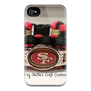 Hot GBN17763CStK Case Cover Protector For Iphone 4/4s- San Francisco 49ers