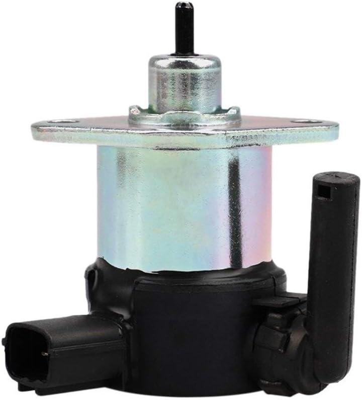 Fangfang 1C01060017 Carburant Shut Off Solenoid Fit for Kubota V3300 Color : As Shown V1505 1C01060015 V2203 V3600