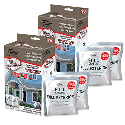 Full Crystal Full Exterior Refill Kits Crystal 16 Ounce
