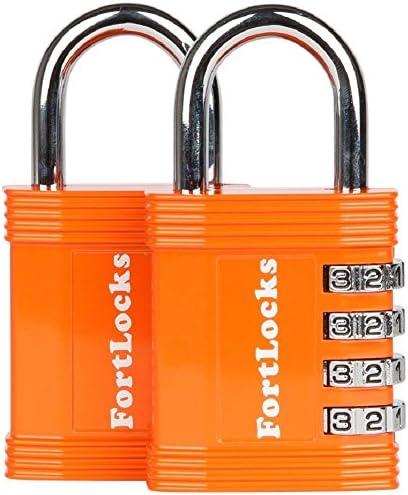 FortLocks Padlock Set Combination Resettable product image