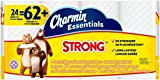 Charmin Essentials Strong Toilet Paper, Bath Tissue, Giant Roll,...