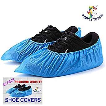 30 Paquete De Azul Desechable Cubrecalzados para zapatos y botas para protección alfombras & pisos. limpieza Accessorios POTENCIA de thechemicalhut: Amazon.es: Amazon.es