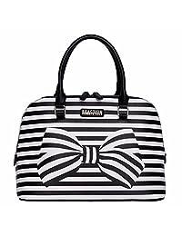 Kenneth Cole Reaction Knots Away Dome Satchel Handbag