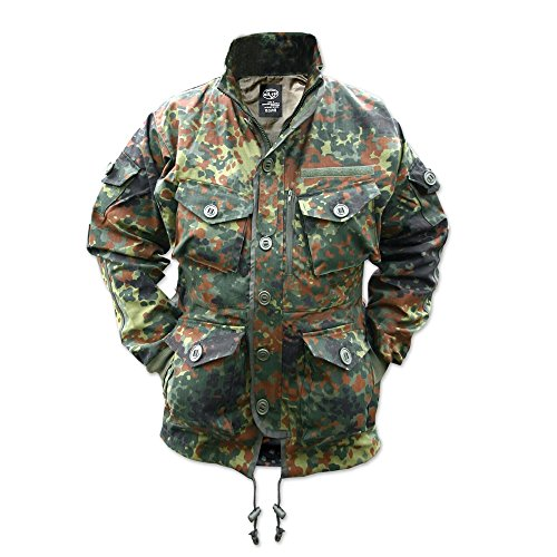 Mil-Tec Flectarn Camo Smock - - Windproof Parka Camouflage
