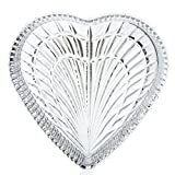 Waterford Crystal Heritage 7.5'' Heart Tray
