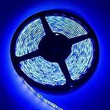 شريط إناره مرن لاصق إل إي دي / ليد 5 متر 9.6 وات للمتر  120 لمبه في المتر  موديل 3528 أزرق