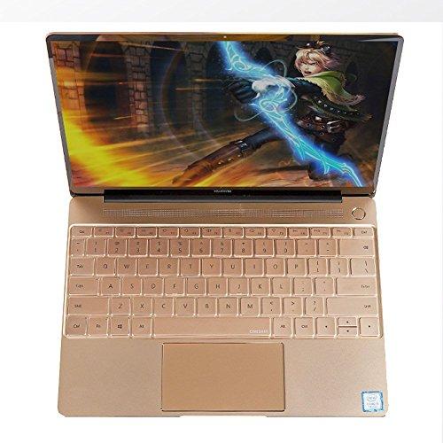 Leze - Ultra Thin Clear Keyboard Skin Cover for 13 Huawei Matebook X Laptop - TPU
