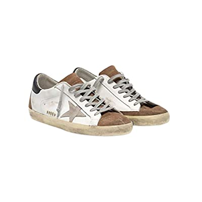 Golden Goose Superstar Men's Sneakers in Leather with Suede Insert | Fashion Sneakers