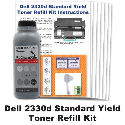 Standard Yield Refill - Dell 2330d Standard Yield Toner Refill Kit