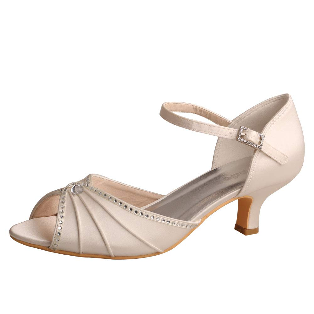 Wedopus , femme Peep-Toe B000P3CB40 femme 18389 Ivoire 9452ed5 - conorscully.space