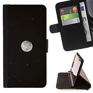 Momo Phone Case / Flip Funda de Cuero Case Cover - Sky Univers Planète Cosmos - Samsung Galaxy E5 E500