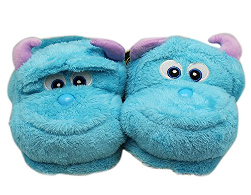Disney's Monsters Inc. Sully Soft and Comfy House Slippers (Sully Monsters)