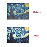 Crafts Graphy 5D DIY Diamond Painting Kits for Adults Full Drill - Circular Drill, Starry Night, 16 x 20 Inches