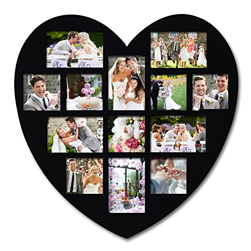 Heart Shaped Collage Picture Frame
