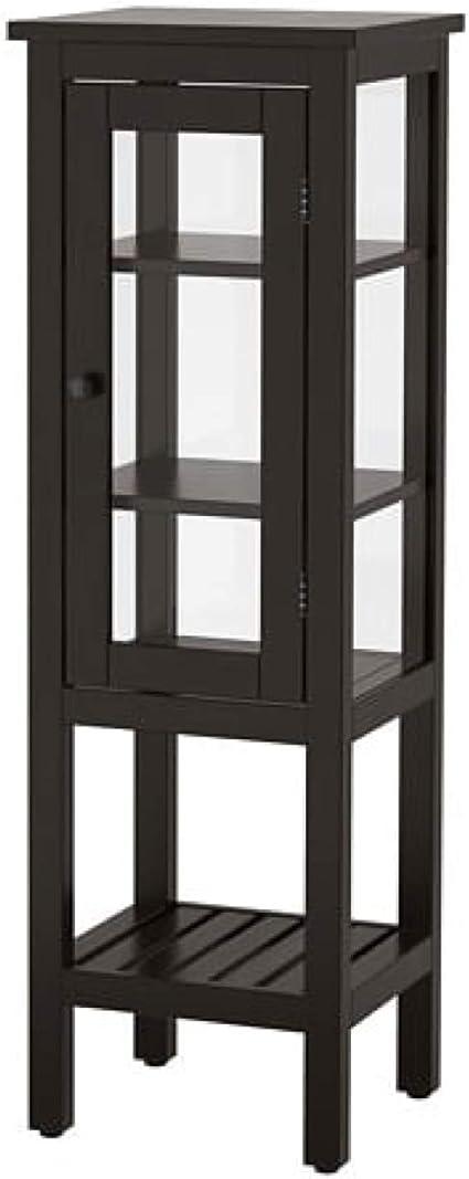 Ikea Hemnes 303.966.41 - Armario Alto con Puerta de Cristal ...