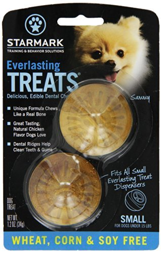 Corn Free Treats (StarMark Everlasting Treats Small Wheat / Corn / Soy Free - WCSFCS)