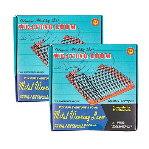 West Coast Paracord Classic Hobby Set Crafting Retro Kit Bundles (Weaving Loom Kits, 2 ()