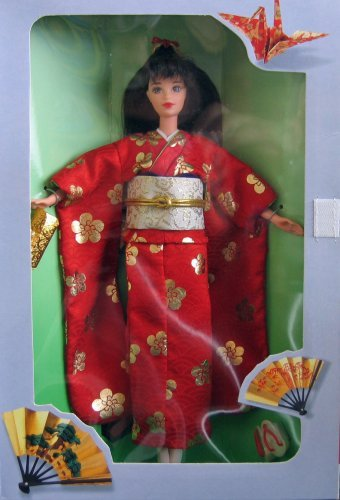 Barbie Japanese Happy New Year Osbogatsu 1995
